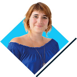 Joëlle Infographiste - Equipe wiwacom